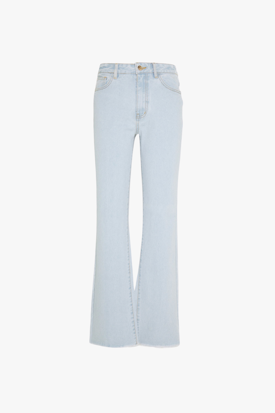 OBJSINYA STRIGHT WIDE JEANS