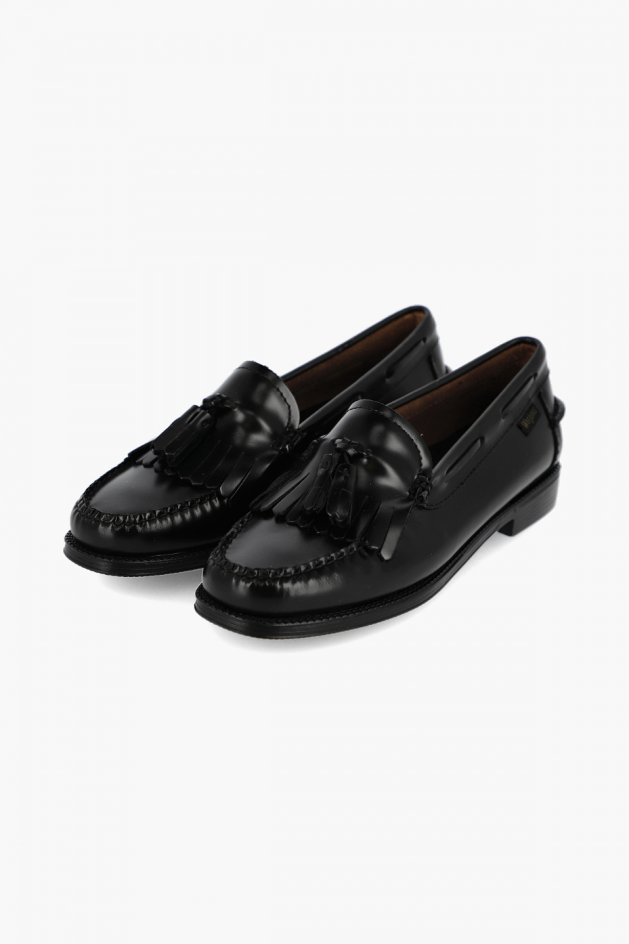 EASY WEEJUN WMN ESTHER BUCKLE BLACK LEATHER