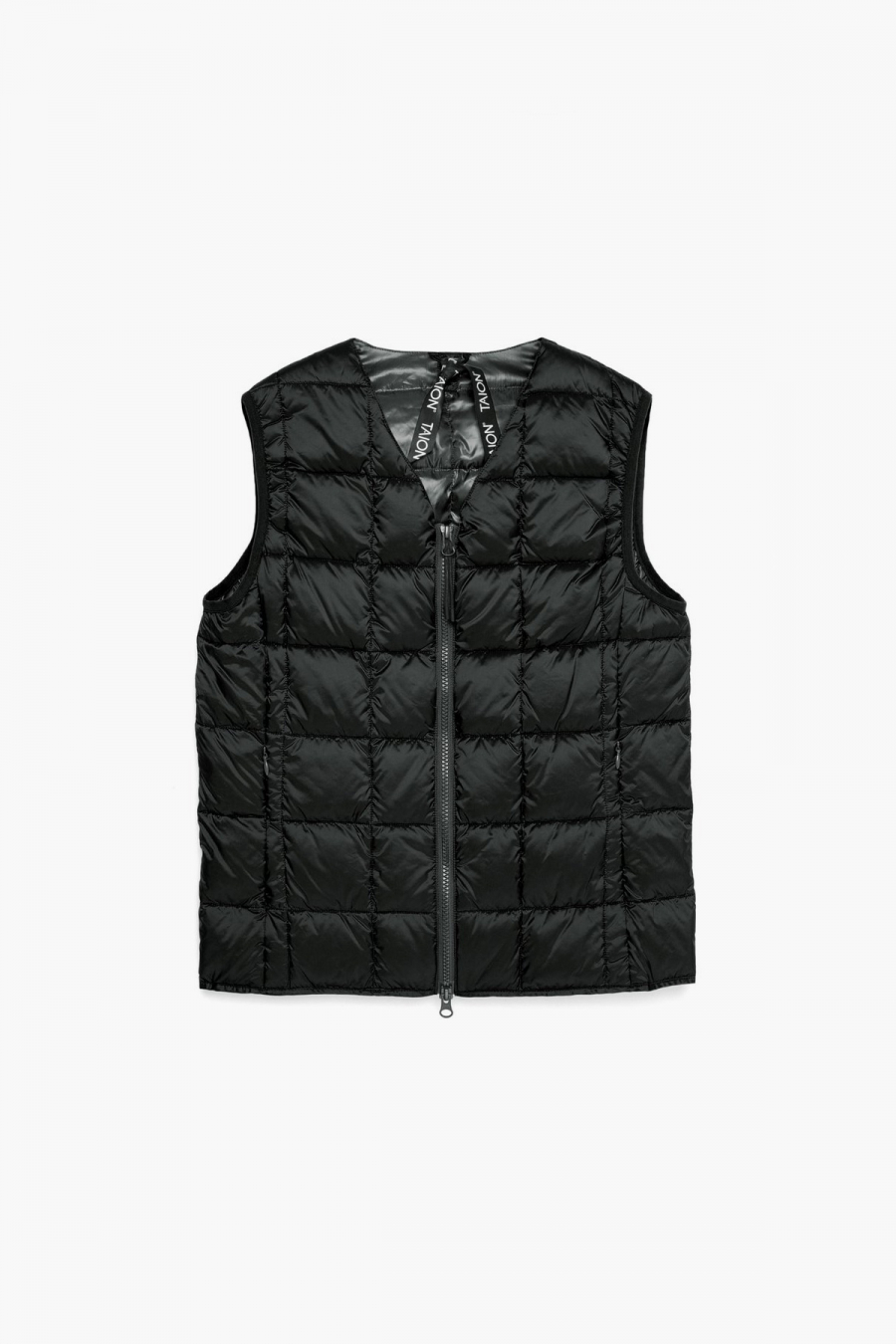 V NECK W-ZIP DOWN VEST 001Z MAN