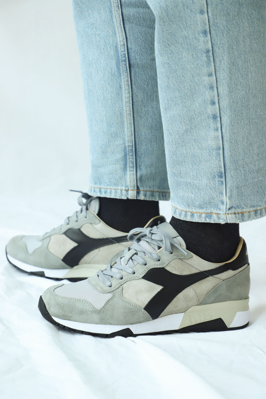 TRIDENT 90 SUEDE HIGH RISE