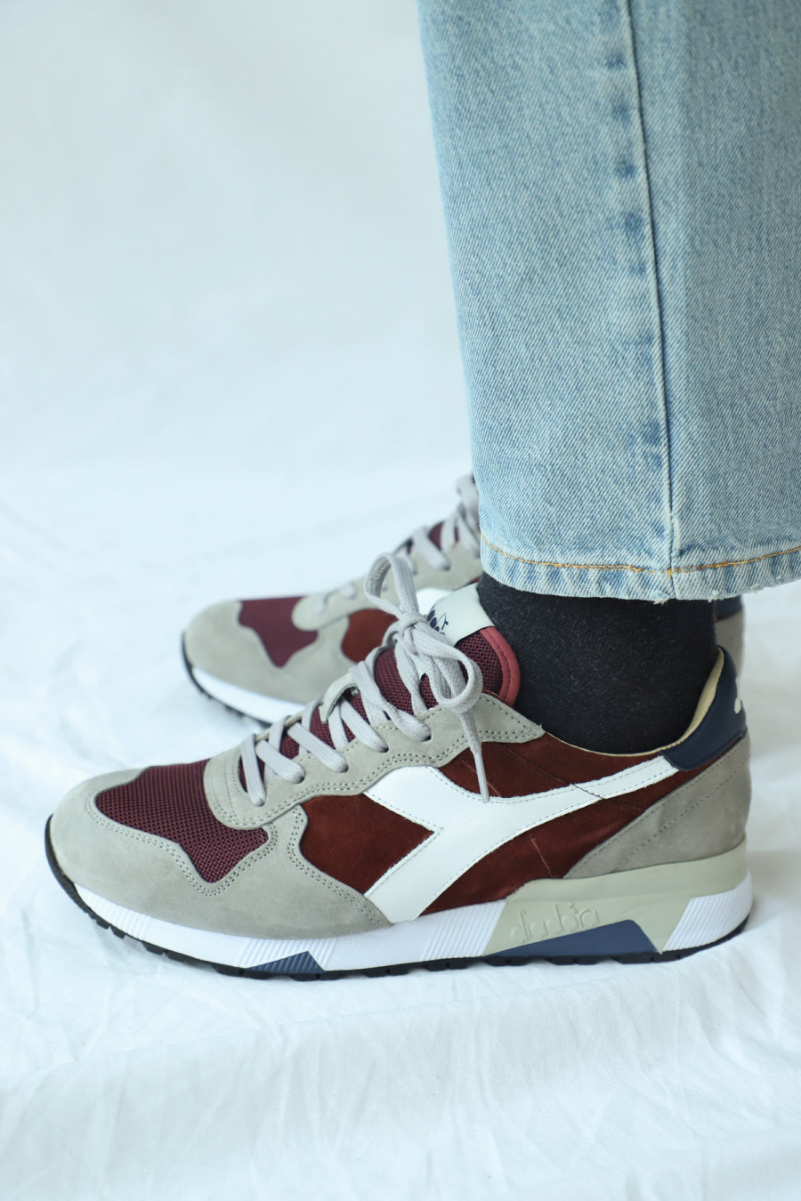 TRIDENT 90 SUEDE  MALAGA RED